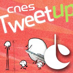 Portez le twibbon du CNES ! Illustration : Marc Edelmann