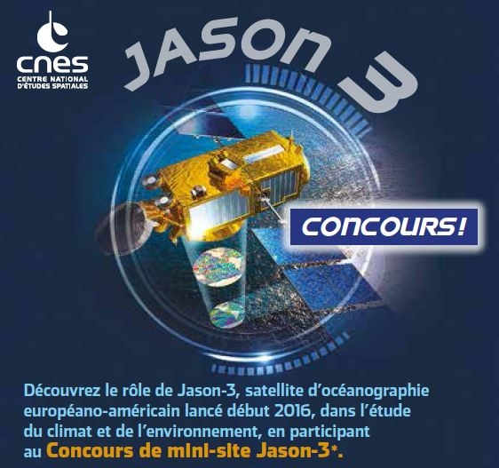 Annonce du concours Jason-3