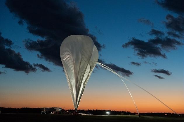 Campagne de ballons du CNES sur la base de Timmins, au Canada