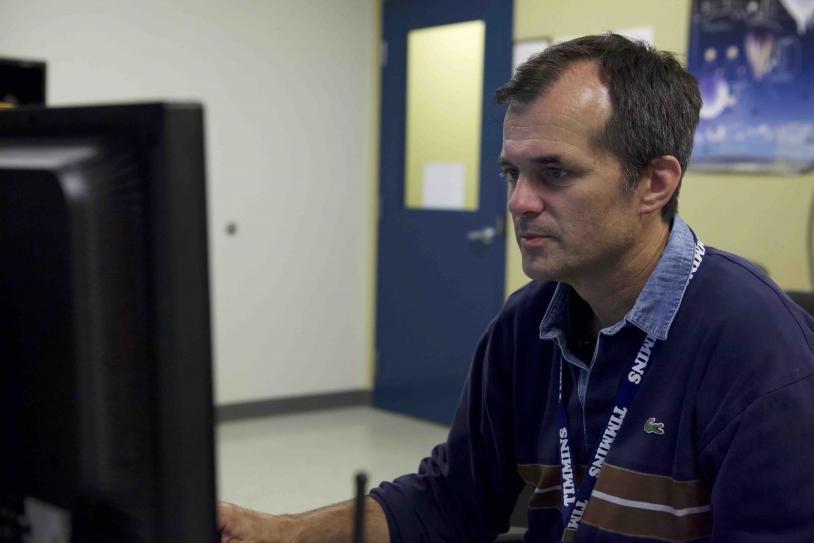 Stéphane Louvel, chef de mission ballons au CNES