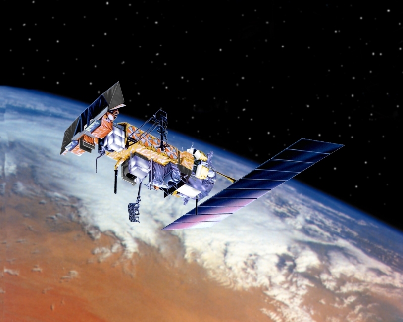 The NOAA-N' satellite. Credits: Ill. NASA.
