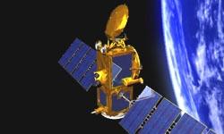 La satellite Jason-2 en orbite depuis le 20 juin 2008. Crédits : CNES.
