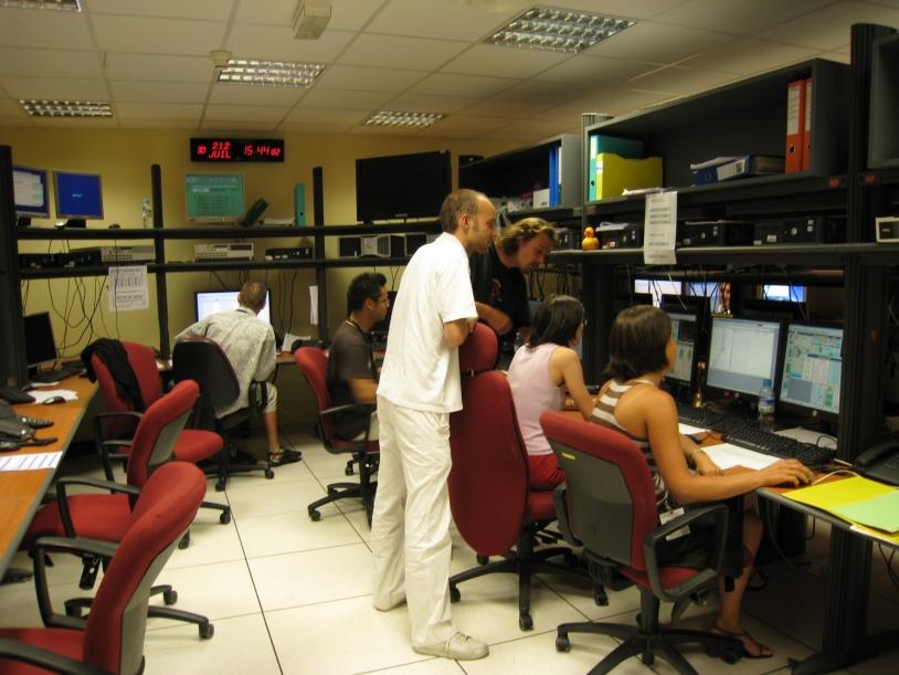 Centre de contrôle de Jason-2 au CNES à Toulouse. Crédits : CNES.