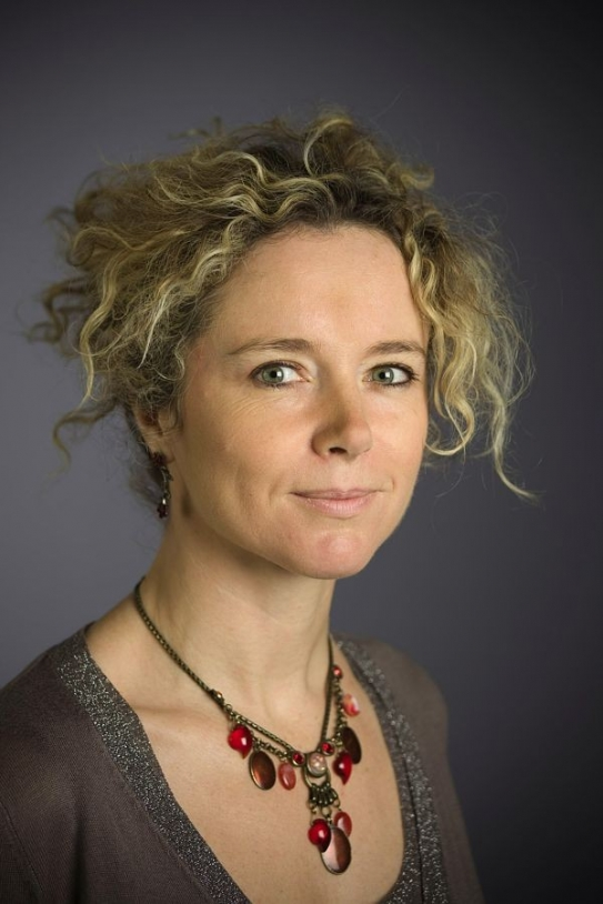Sylvie Marzocchi. Crédits : CNES/S. Godefroy, 2008.