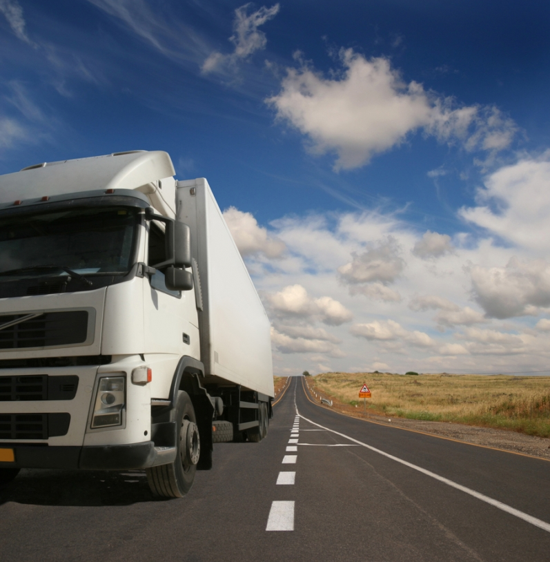 The heavy vehicle eco-tax will apply to vehicles weighing over 3.5 tonnes on roads outside toll roads. Credits: Fotolia/Yakov Stavchansky