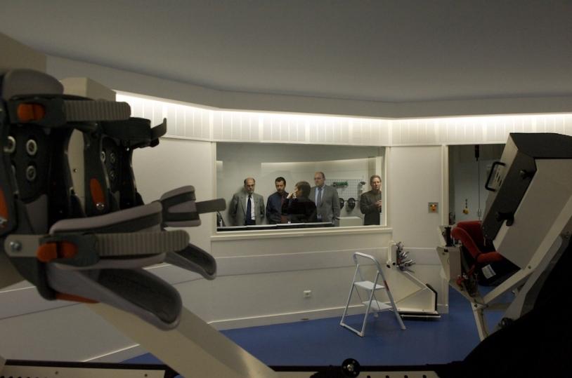 Célébration du 20e anniversaire du GIE MEDES/IMPS, le 5 novembre sur le site de l'hôpital de Rangueil à Toulouse. Crédits : CNES/S. Girard.