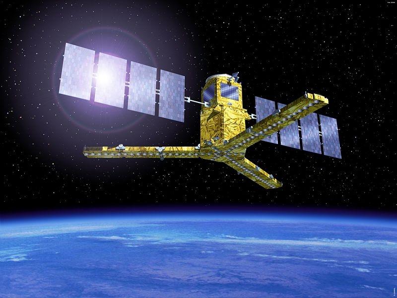 SMOS a rejoint son orbite définitive à environ 760 km d'altitude le 19 novembre. Crédits : Ill. ESA.