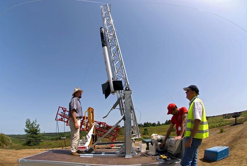 Au programme cette annnée encore, les fusées expérimentales vont rugir dans le ciel landais. Crédits : CNES/S. Girard.