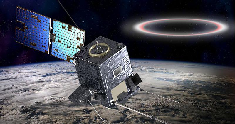 The TARANIS satellite. Credits: CNES/Ill.D. Ducros.