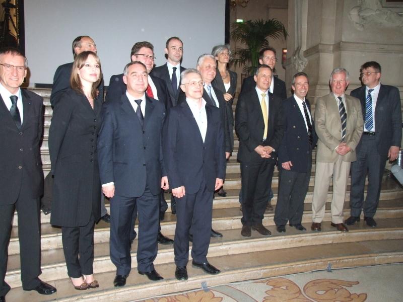 Quelques personnalités présentes lors de la soirée. Crédits CNES.
