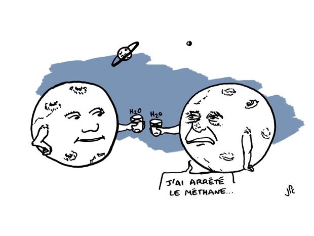 Planètes trinquent