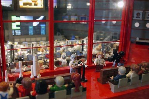 Représentation de la salle Jupiter 2 en Lego
